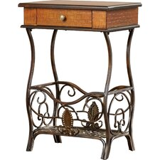 Ventana End Table by Bay Isle Home