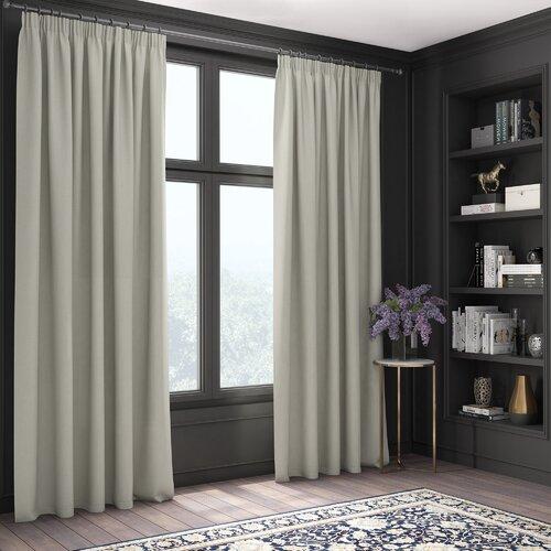 Herrington Blackout Thermal Curtain Brambly Cottage