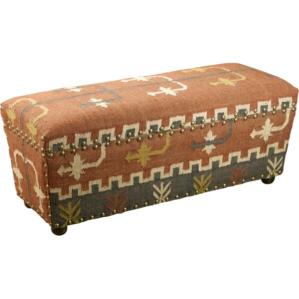 Upholstered Storage Bench by AA Importing