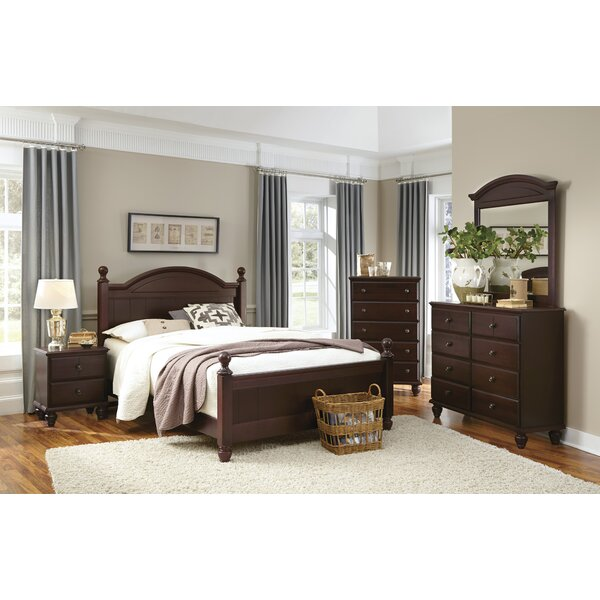 Standard Bed by Carolina Furniture Works, Inc.