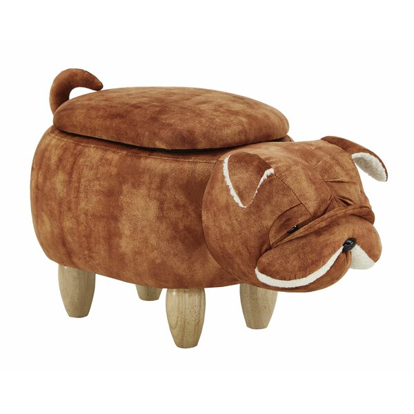 Emmett Bull Dog Storage Ottoman by Isabelle & Max Isabelle & Max™