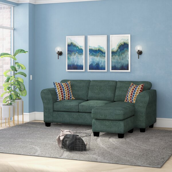 #2 Dominey Reversible Sectional By Zipcode Design Reviews