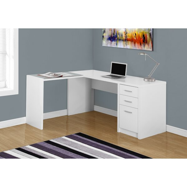 L-Shape Corner Desk by Monarch Specialties Inc.