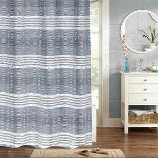 Woven Jacquard 100 Cotton Shower Curtain
