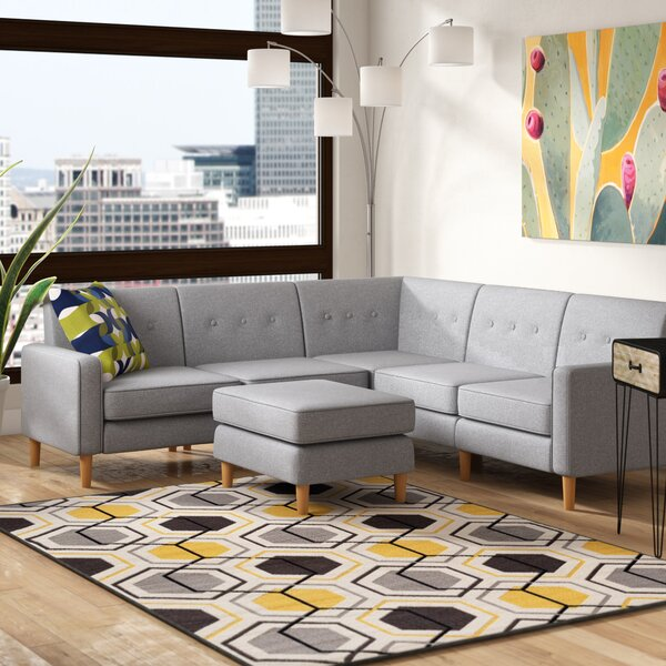 Easton In Gordano Modular Sectional with Ottoman by Ivy Bronx