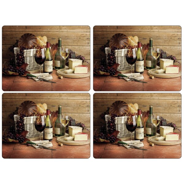 Artisanal Wine Placemat (Set of 4) by Pimpernel