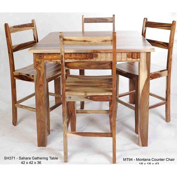 Montana Solid Wood Dining Chair by Aishni Home Furnishings