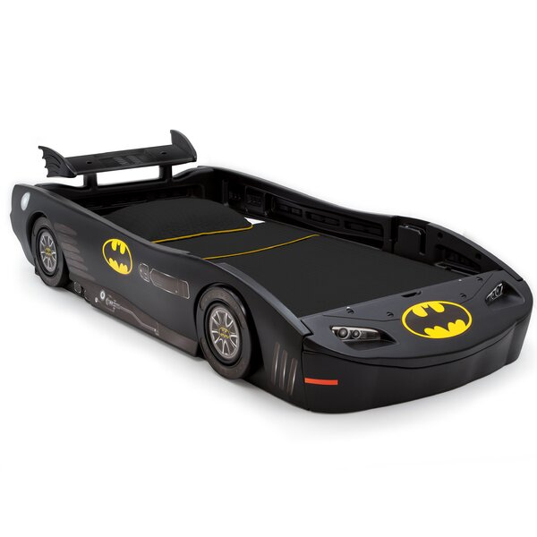 DC Comics Batmobile Batman Twin Bed by Delta Children