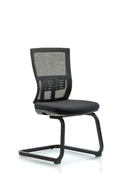 Odin Modern Desk Height Guest Chair by Symple Stuff