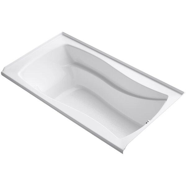 Mariposa Alcove 66 x 36 Soaking Bathtub by Kohler