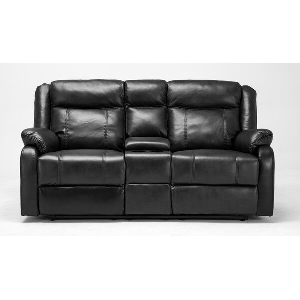 Novia Reclining Loveseat by Roundhill Furniture
