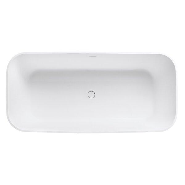 VersaStone 67 H x 32 W Soaking Bathtub by Avanity