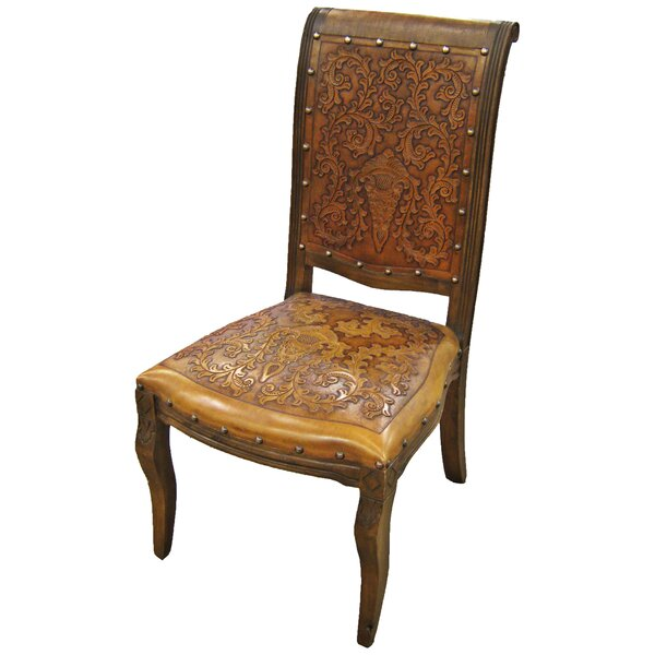 Astoria Grand Eliza Genuine Leather Upholstered Dining Chair Wayfair