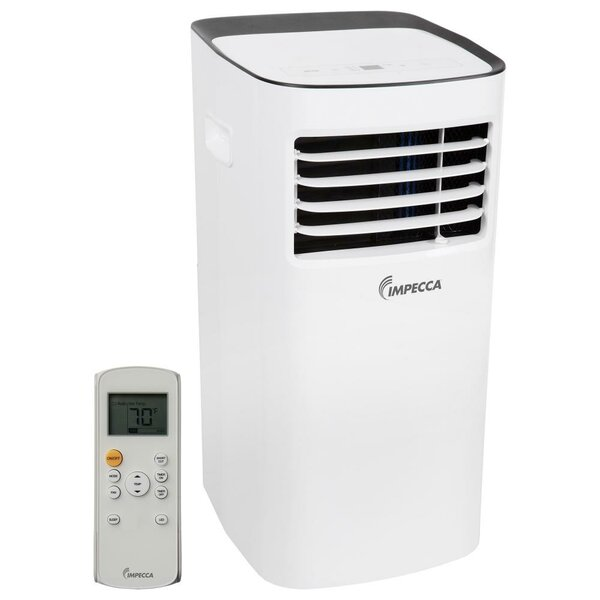 8,000 BTU Portable Air Conditioner with Remote by Impecca USA