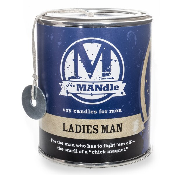 Ladies Man Soy Jar Candle by Eco Candle Co