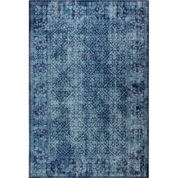 Ashburn Navy Area Rug by Bungalow Rose