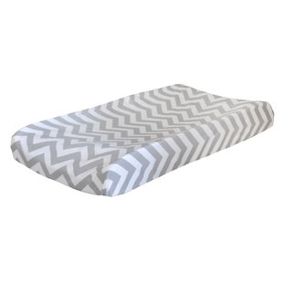 Affordable Lindenberg Chevron Changing Pad Cover By Harriet Bee