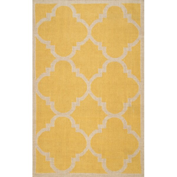 Bevon Yellow Area Rug by nuLOOM