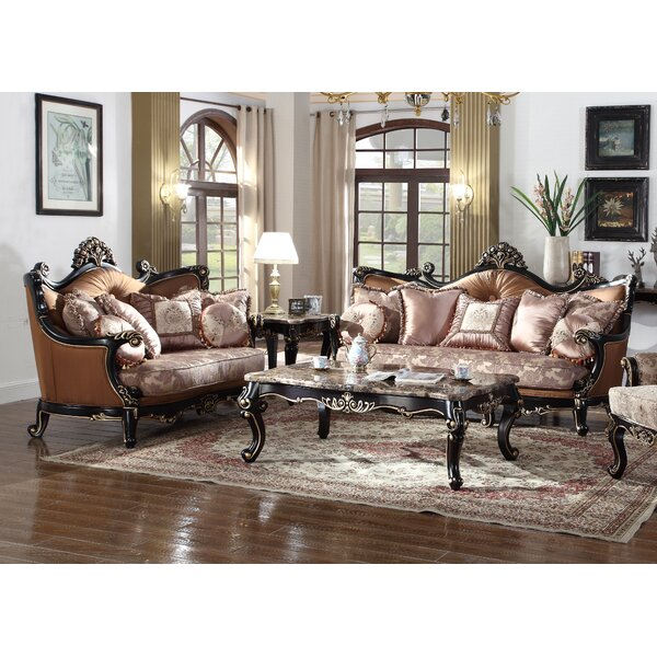 2 Piece Living Room Set by BestMasterFurniture