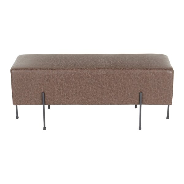 Upper Swainswick Upholstered Bench by Union Rustic