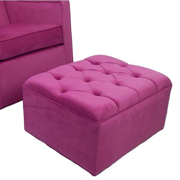 Seymour Tufted Ottoman by Harriet Bee