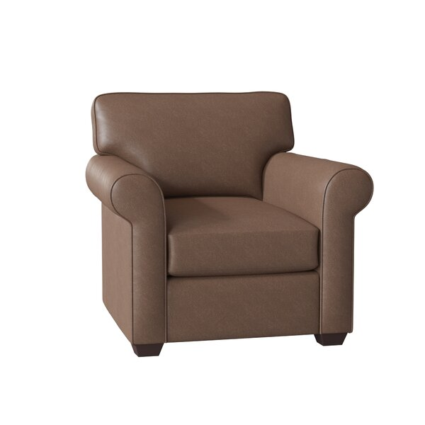 Rachel Leather Club Chair By Wayfair Custom Upholstery™