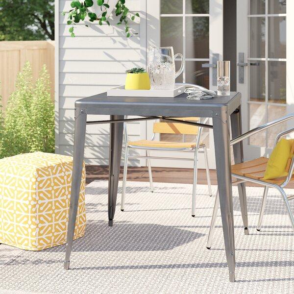 Plumerville Steel Dining Table by Zipcode Design