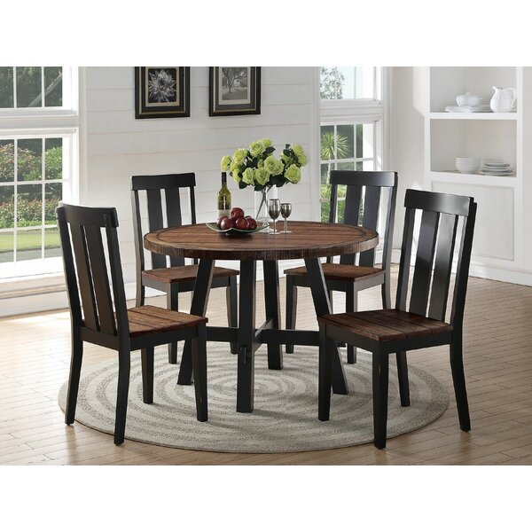 Goodman 5 Piece Dining Set By Gracie Oaks 2019 Coupon
