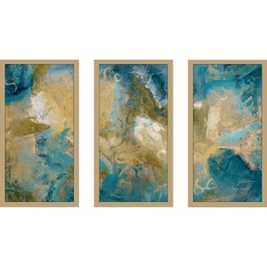 Isaiah 33 17 Max by Mark Lawrence 3 Piece Framed Painting Print Set by Picture Perfect International