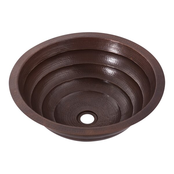 Matamoras Metal Oval Dual Mount Bathroom Sink by Novatto