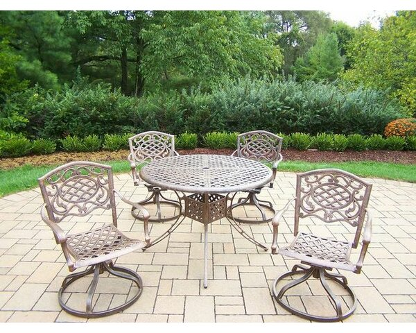 Mississippi 5 Piece Dining Set by Oakland Living