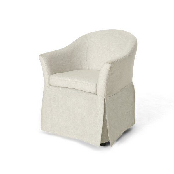 Cathleen Barrel Chair by Highland Dunes