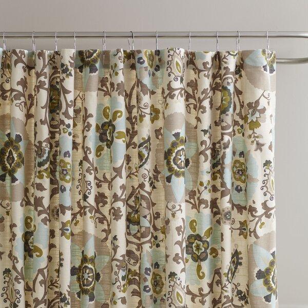 Cady Cotton Shower Curtain by Birch Lane™