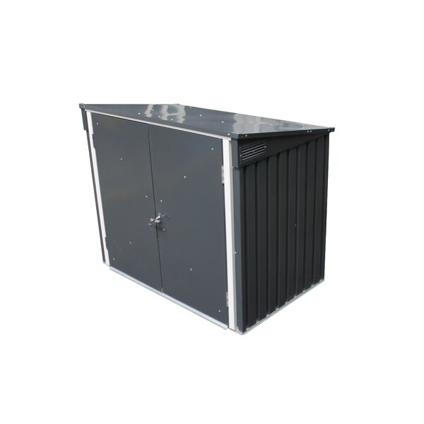 5 ft. W x 3 ft. D Metal Lean-To Garbage Shed by Duramax Building Products