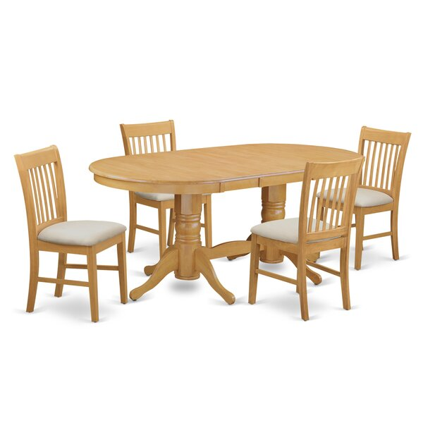 #2 Rockdale 5 Piece Dining Set By Darby Home Co Savings