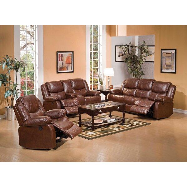 Check Price Stijn 3 Piece Reclining Living Room Set