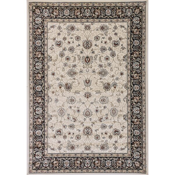Morocco Ivory Area Rug by Charlton Home