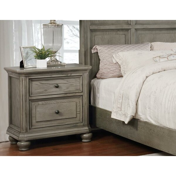 Meadors 2 Drawer Nightstand by Gracie Oaks