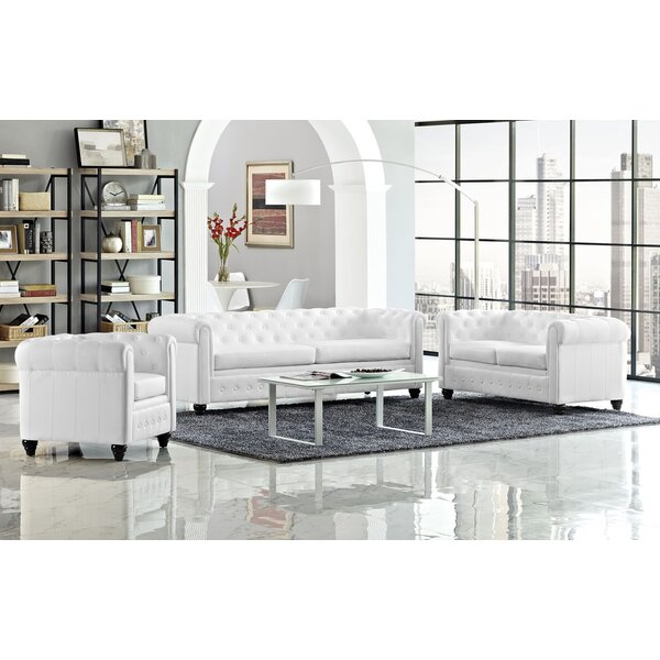 Earl 3 Piece Living Room Set by Modway