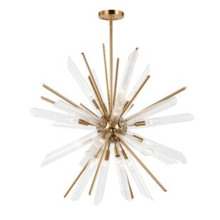 Atkins 16-Light Sputnik Chandelier By Mercer41