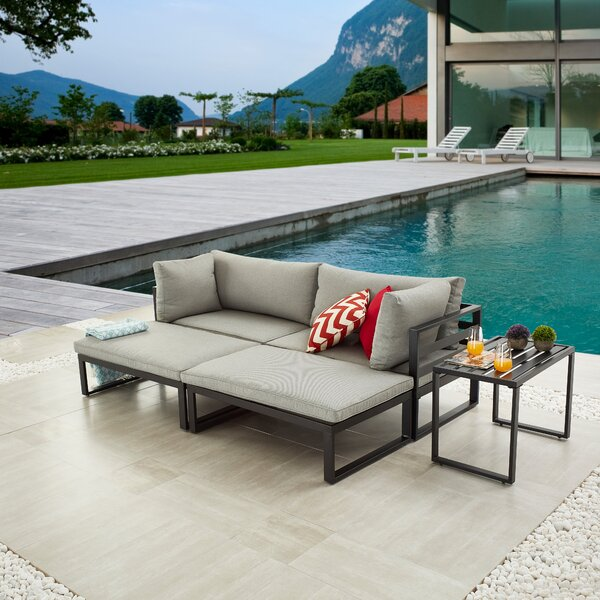 Ingwald 5 Piece Sofa Seating Group with Cushions by Latitude Run