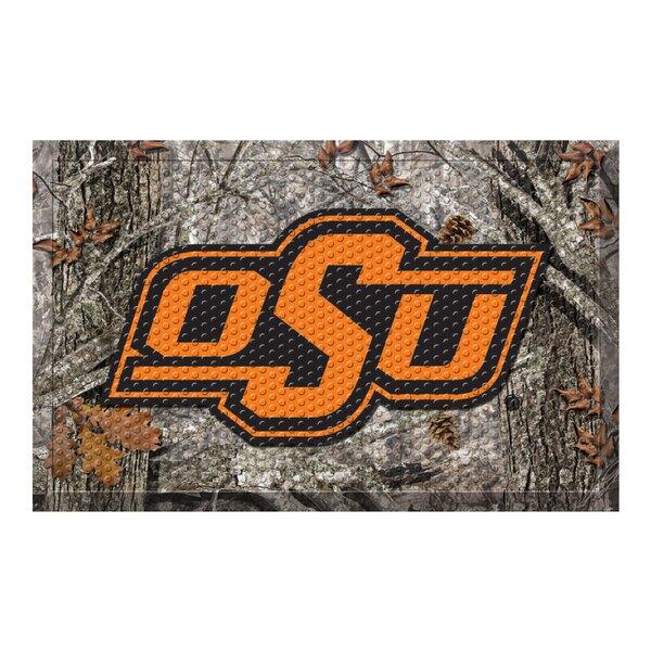 Oklahoma State University 30 in. x 19 in. Non-Slip Outdoor Door Mat
