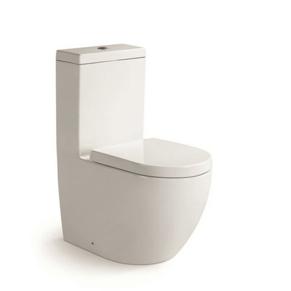 Aqua Dual Flush Round One-Piece Toilet by Morenobath