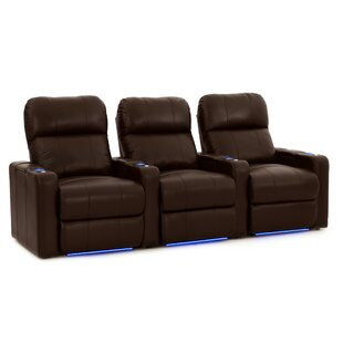 Sleek Home Theater Row Seating (Row of 3) Latitude Run