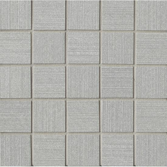 Weston 2 x 2 Porcelain Mosaic Tile in Silver by Grayson Martin