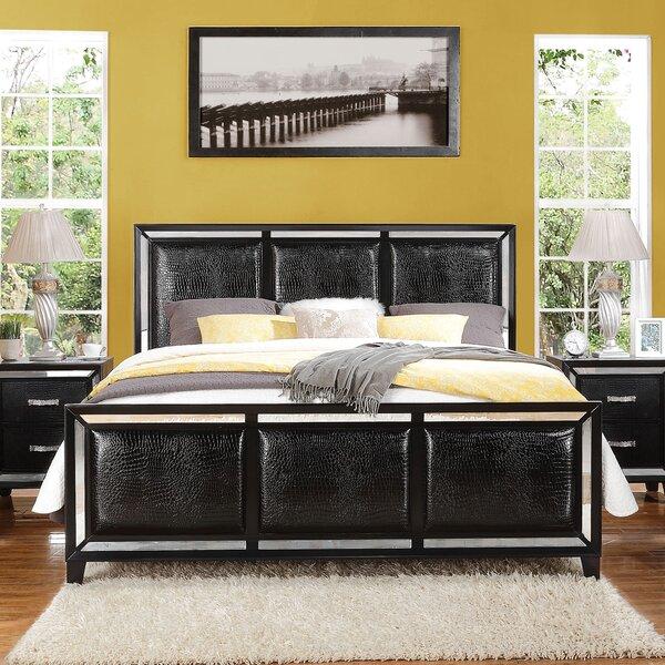 Mulki Upholstered Standard Bed by Everly Quinn