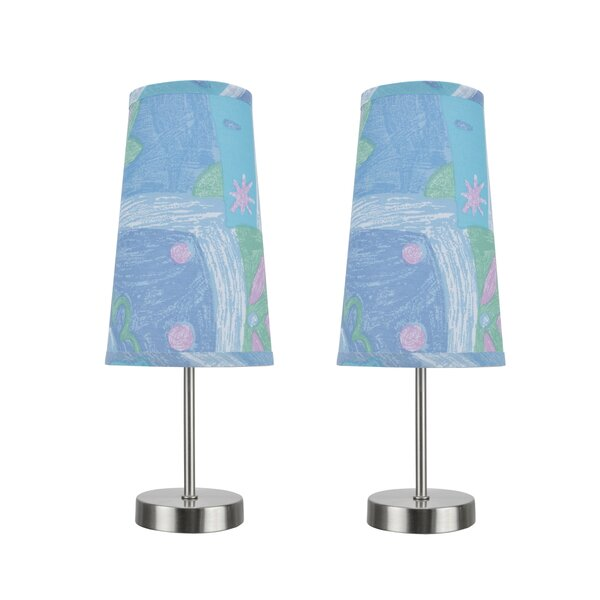 Baby Contemporary Candlestick Table Lamp (Set of 2) by Harriet Bee