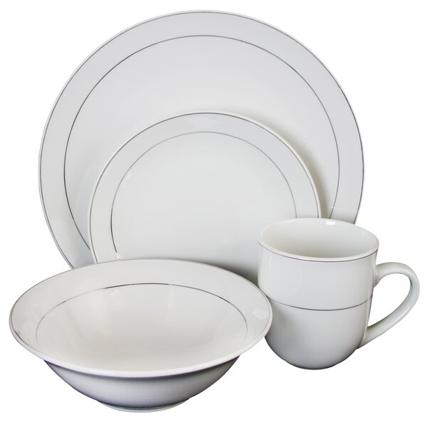 Sheryll 16 Piece Dinnerware Set, Service for 4 by Gracie Oaks