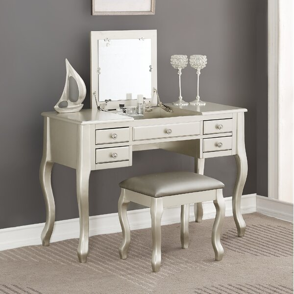 Casimiro Vanity Set with Mirror by Darby Home Co