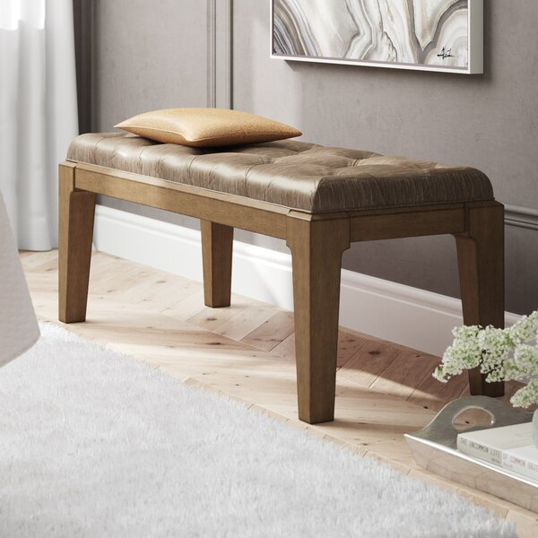 Alcalde Upholstered Bench by Willa Arlo Interiors